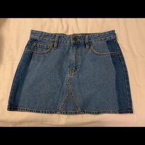 VANS Mini Jeans Skirt